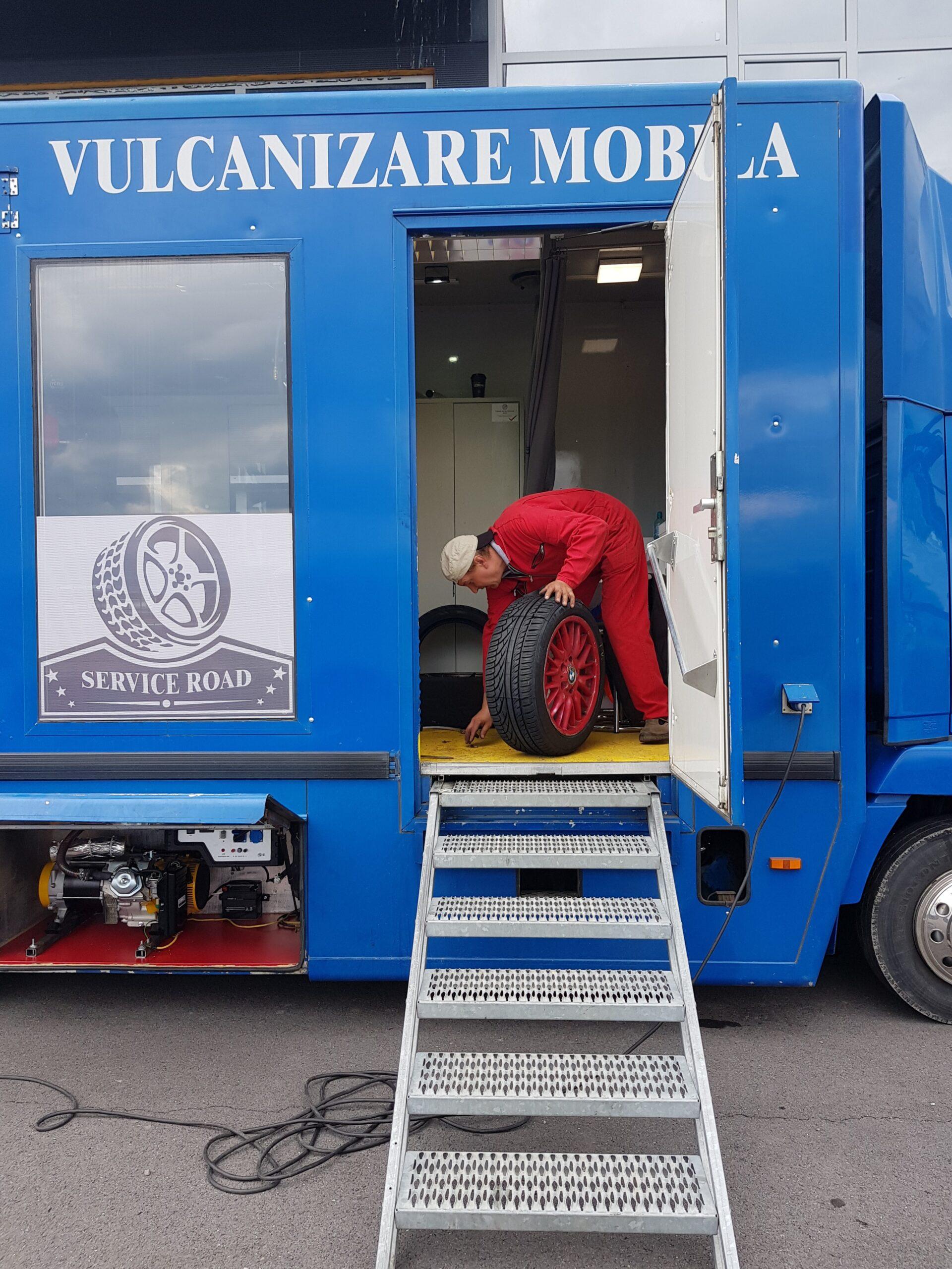 Vulcanizare mobila